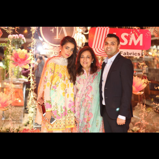Maliha Aziz, Farah Talib and Raheel Lakhany