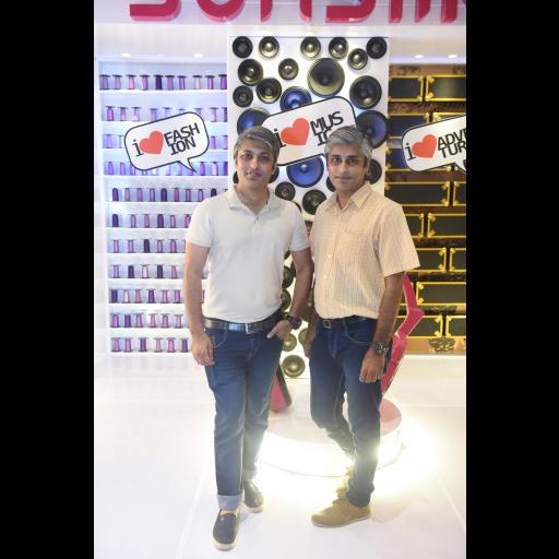 AB and Fahad Lakhani