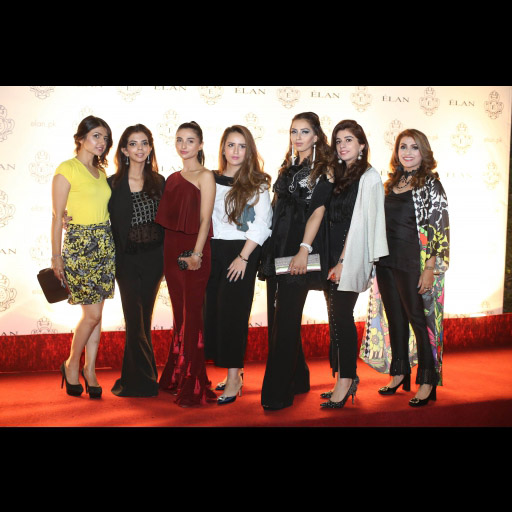 Seyham, Shireen, Yasmeen, Faria, Sumrina, Mehak and Amna