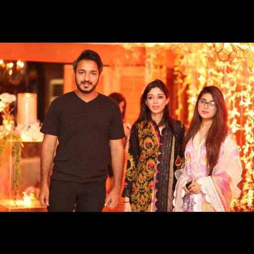 Amjad Bhatti, Sana Sufi and Tanzeela Khan