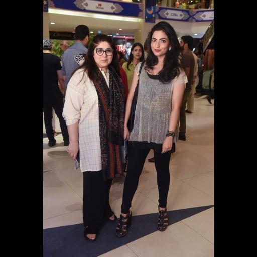 Amna Isani and Fatima Zara Malik