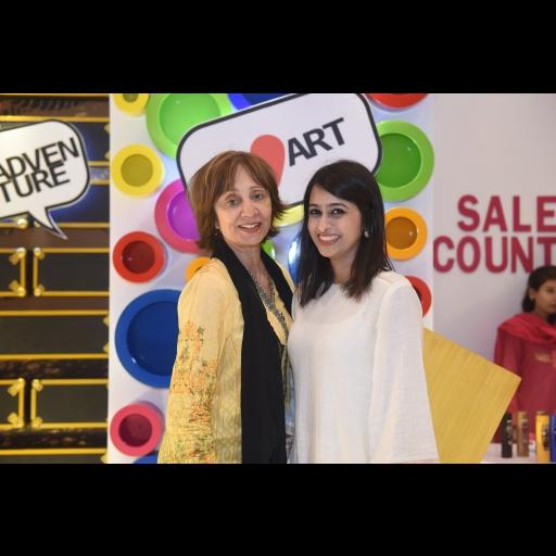 Anisa Rashid Khan and Rabia Aftab