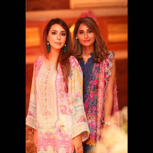 Anum Ahmed and Sidra Akram