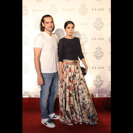 Shahbaz Taseer and Maheen Taseer