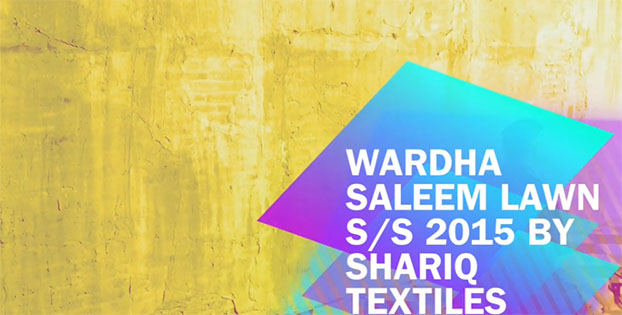 Wardha Saleem Lawn S/S 2015 By Shariq Textiles