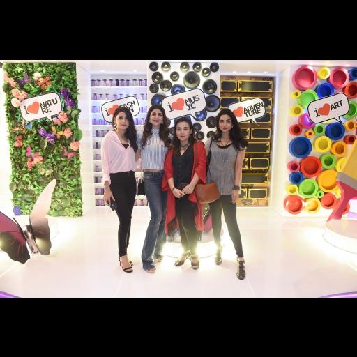 Hina Altaf, Areeba Habib, Natasha Baig and Fatima Zara