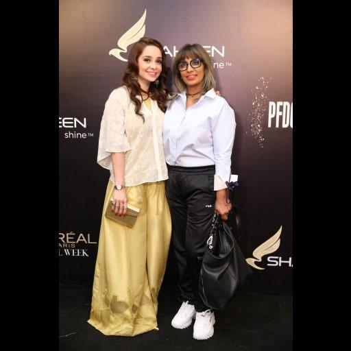 Juggun Kazim and Saima Rashid