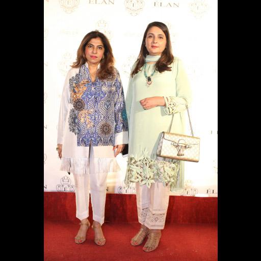 Sherezad Rahimtoola and Kiran Ikram