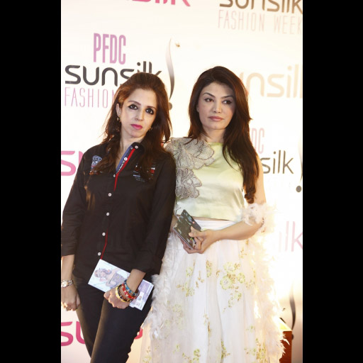 Erum Khan and Farah