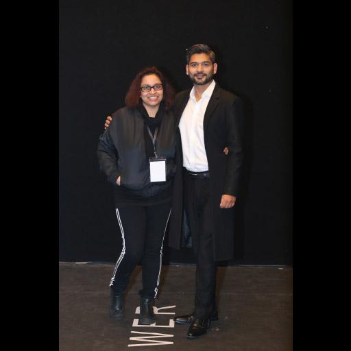 Samra Muslim and Zaheer Abbas