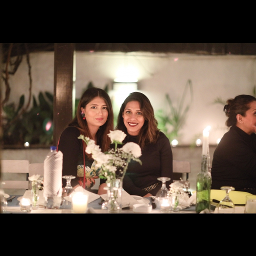 Saleeha Shah and Momina Sibtain