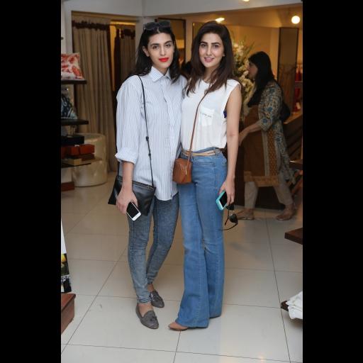 Anusheh Shahid and Areeba Habib