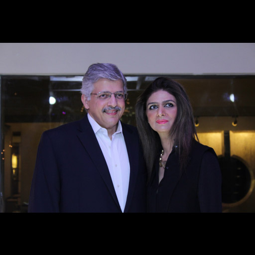 Asif Mirza and Uzma Mirza Owners at Zunn