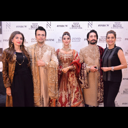 Nickie, Usman, Hareem, Ali Rehman and Nina