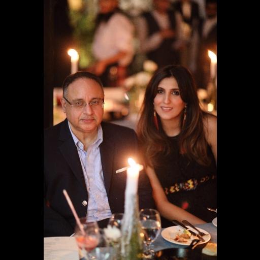 Zahir Rahimtoola and Khadijah Shah