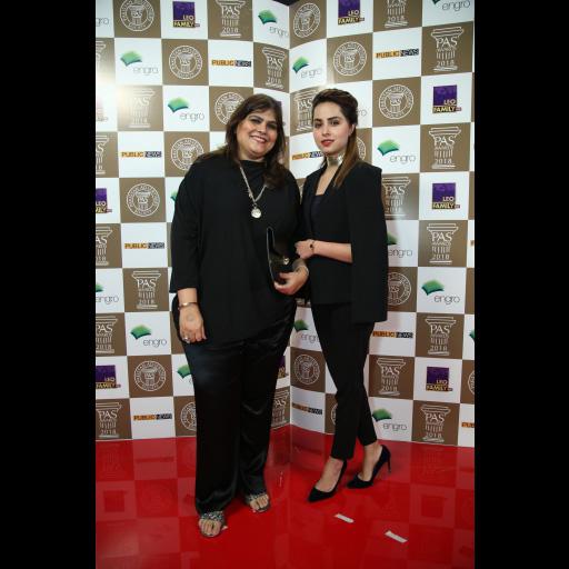 Ayesha Jalil with Nimra Khan