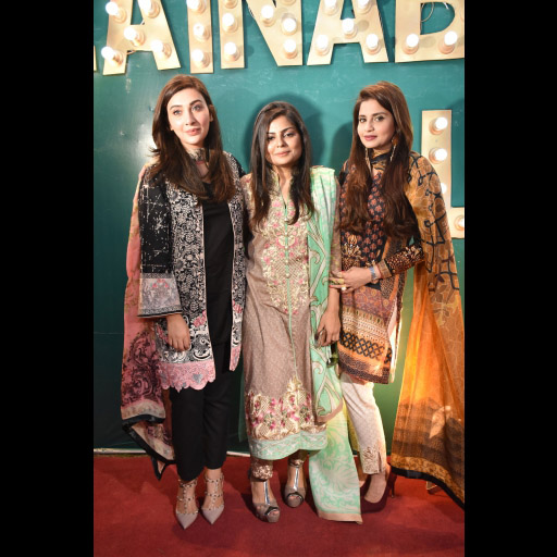 Aisha, Zainab and Sana