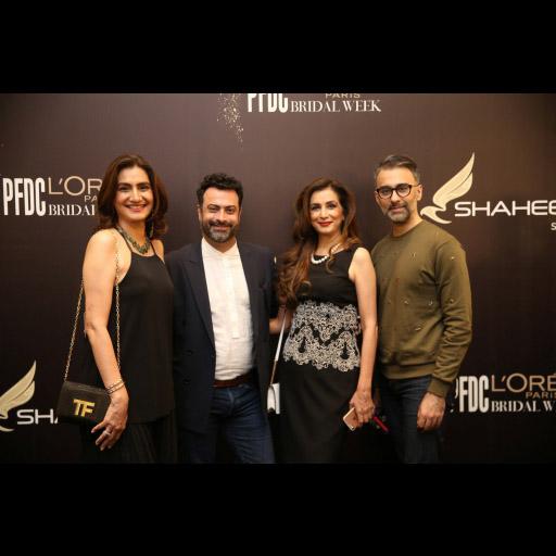 Aliya Nazir (Nickie), Kamiar Rokni, Nabila Junaid (Nina) and Rehan Bashir
