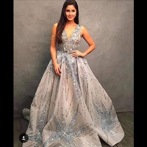 Katrina Kaif in a Zaid Nakad gown