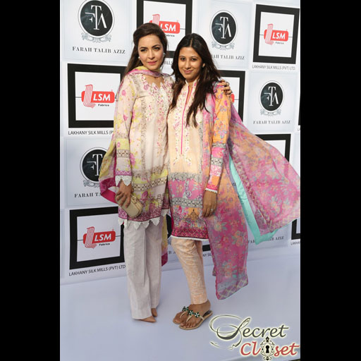 Maliha and Faiza Lakhani