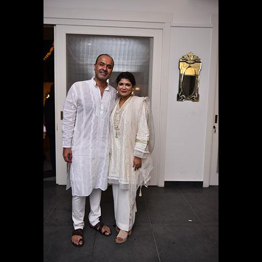 Deepak Perwani and Kiran Mian