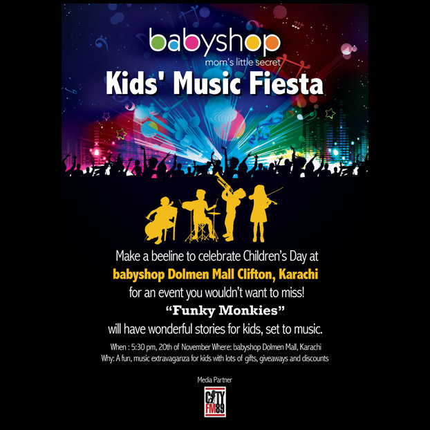 Babyshop Music Fiesta 20th November!