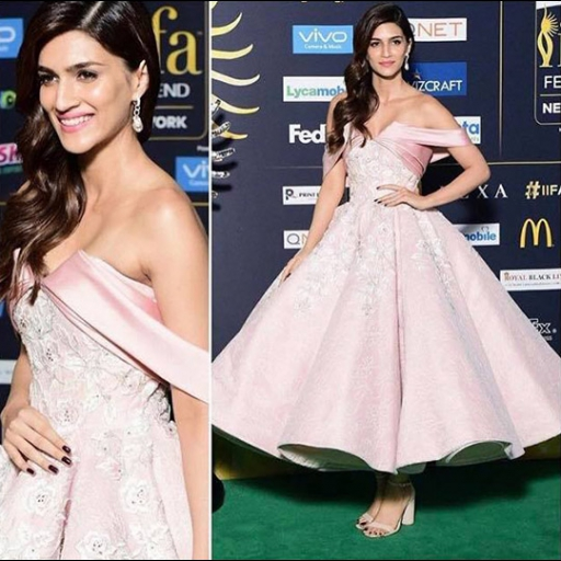 Kriti Sanon in Mark Bumgarner dress