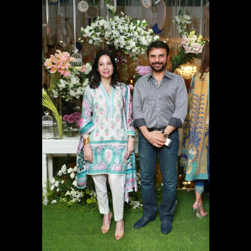 Nina Akbar And Shahzad Raza