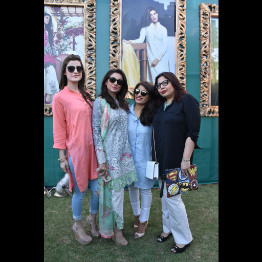 Amna, Sarwat, Maliha and a friend
