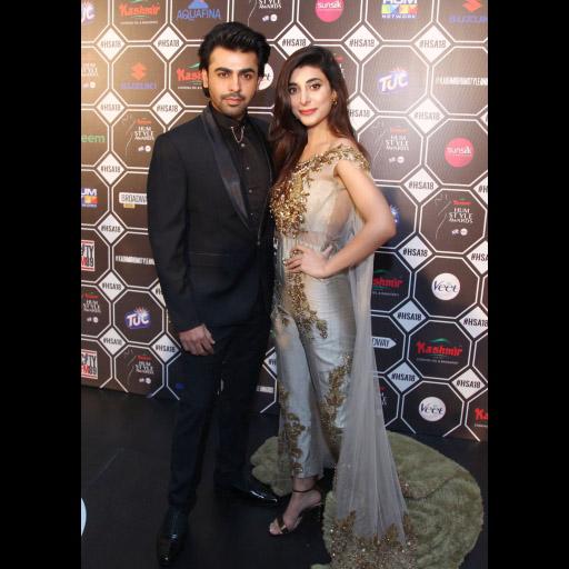 Farhan Saeed and Urwa Hocane
