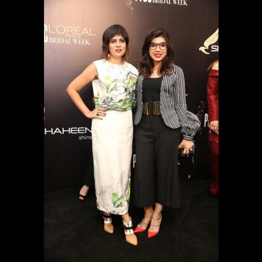 Amna Niazi and Sadaf Zarrar