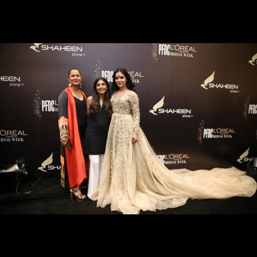 Andaleeb Rana, Shamsha Hashwani and Humaima Mallick