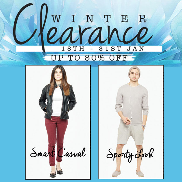 DARAZ.PK WINTER CLEARANCE SALE UPTO 80% OFF + STYLE TIPS FROM THE STYLISTS AT DARAZ!