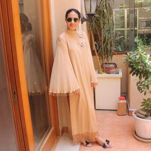 Zoha Shakir spotted in Ansab Jahangir on Eid