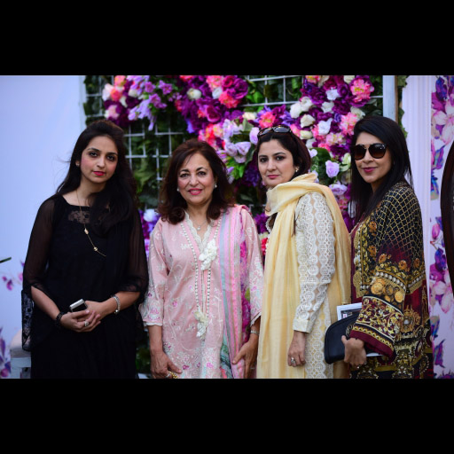 Farah Talib Aziz with Guests