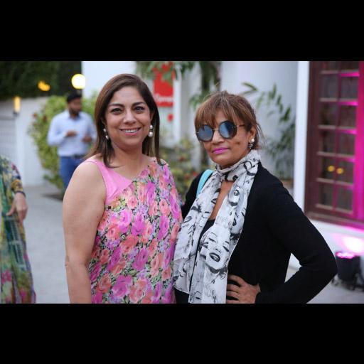 Fareshteh Aslam and Frieha Altaf