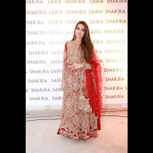 Alyzeh Gabol wearing Saira Shakira