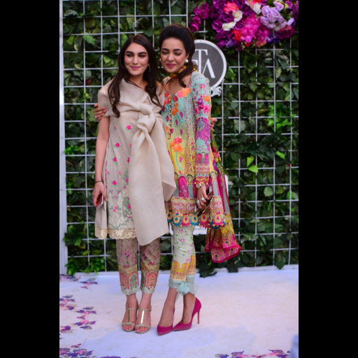 Imaan Madani and Maliha Aziz