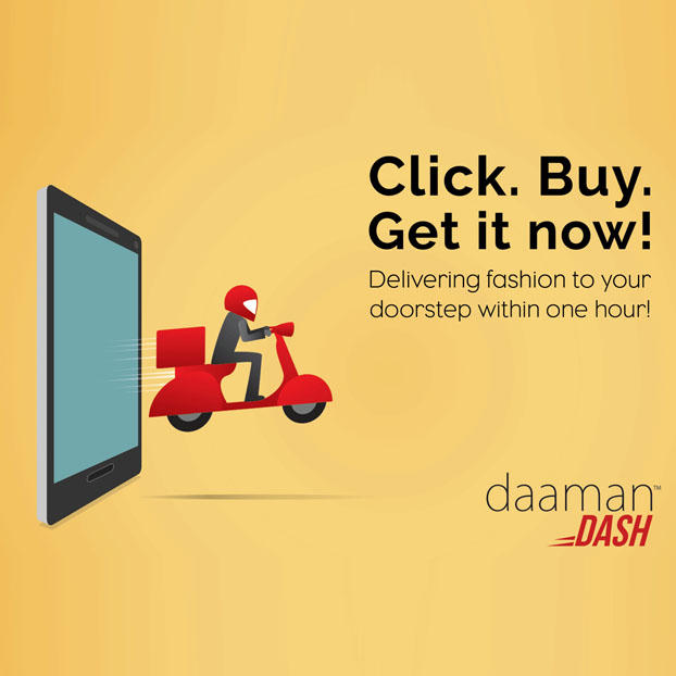 DAAMAN DASH- TAKING ONLINE SHOPPING TO A NEW LEVEL!