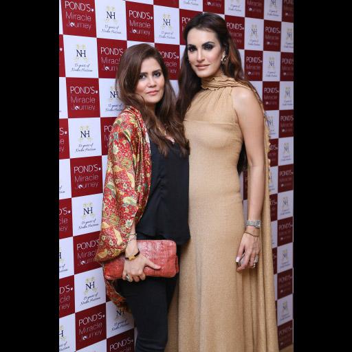 Afreen Shiraz and Nadia Hussain