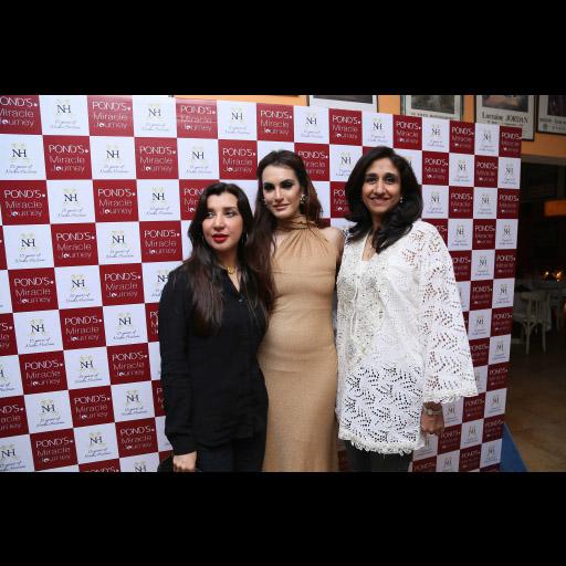 Ambreen, Nadia and Naz Khan