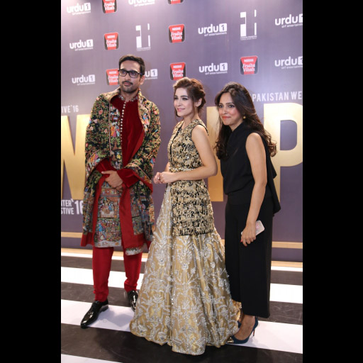 Ali Sethi, Aisha Omer and Nida Azwer