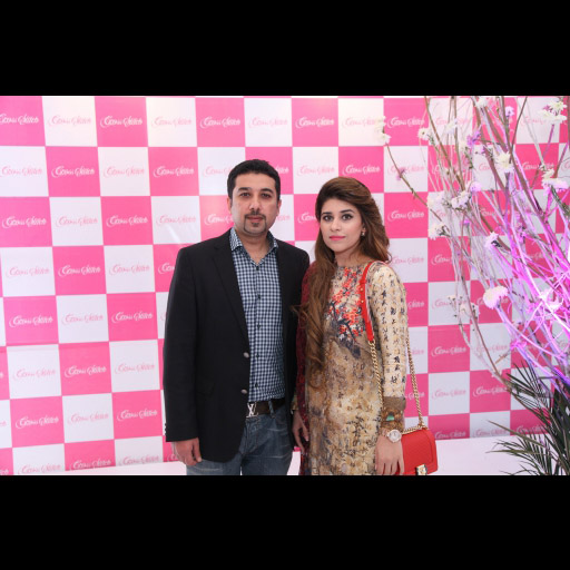 Asad Shafi  CEO and his lovely wife Mishal Asad in Cross Stitch