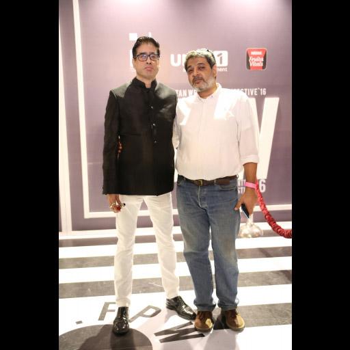 Amin Guljee with Ahsan Shami