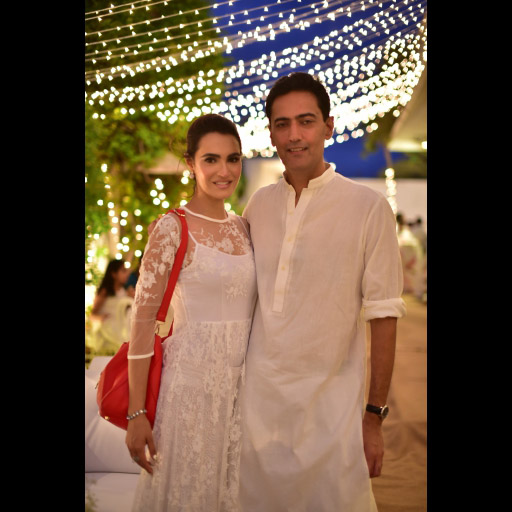 Nadia Hussain and Atif Khan