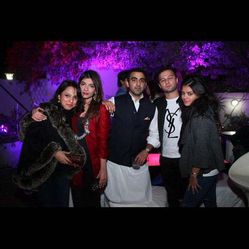 Nida Azwer, Samirah Ganny, Adnan Chinoy, Shah Munir and Aleezeh Lakhani
