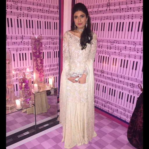Shazah Ayub in a breathtaking Sania Maskatiya formal