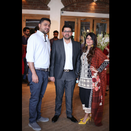 Mustafa Shahbazker, Khawaja Fraz and Tooba Chottani