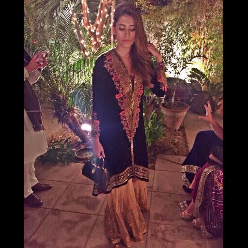 Saira Shehroz fabulous in Tena Durrani