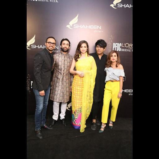 Nomi Ansari, Ali Rehman, Sana Javed, Tabesh Khoja and Natasia Khalid